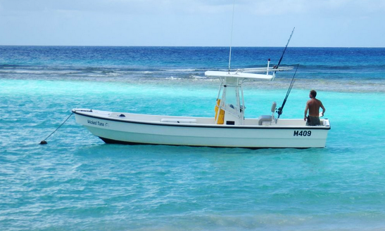 Rent 26ft ''wicked Tuna'' Center Console In Bridgetown, Barbados