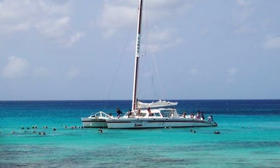 65' Luxury Sailing Catamaran In East End