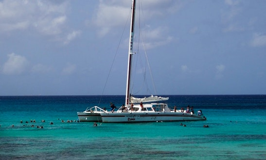 65' Luxury Sailing Catamaran In East End