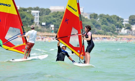 Windsurfing Lesson & Rentals In Muro