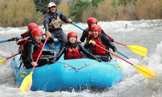 Enjoy A Day Of Rafting In Pucon, Chile