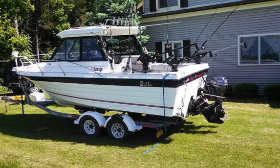 22' Penn Yan Fishing Boat In Lodi