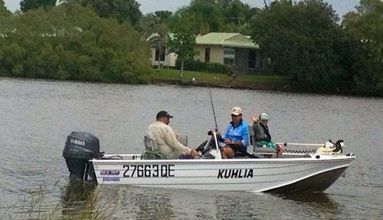 Fishing Charters Inshore Boat In Buddina, Queensland