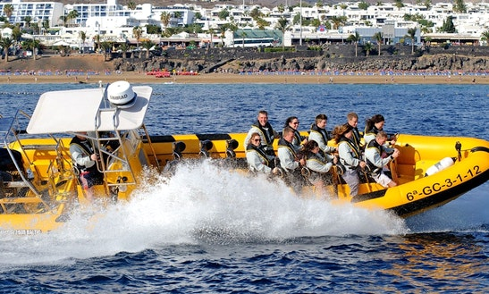 Waveriding Rib Excursions In Lanzarote