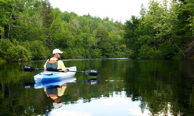 Kayaking in Florence, Oregon