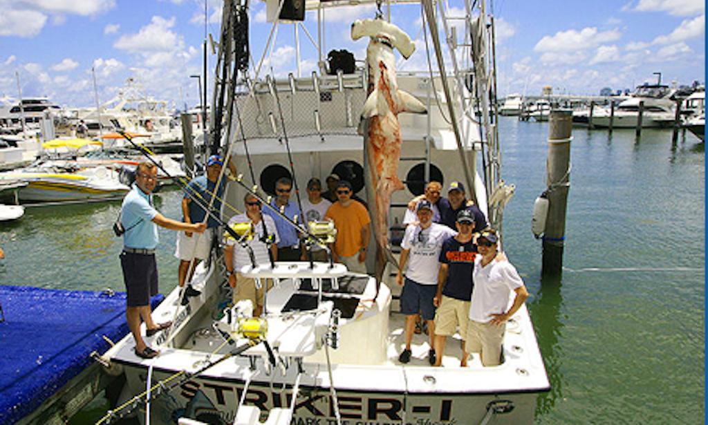 Charter 28 39 sport fisherman in miami beach florida for Miami beach fishing charters