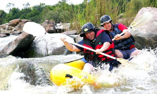 Rafting In Parys, South Africa