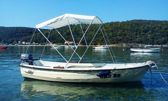 15' Kvarnerplastic  Jon Boat Charter In Kampor, Croatia