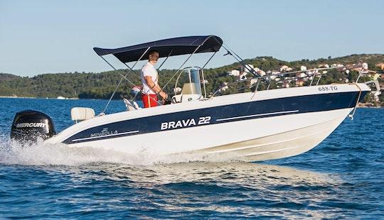 Mingolla Brava-22 Boat Charter In Trogir, Croatia