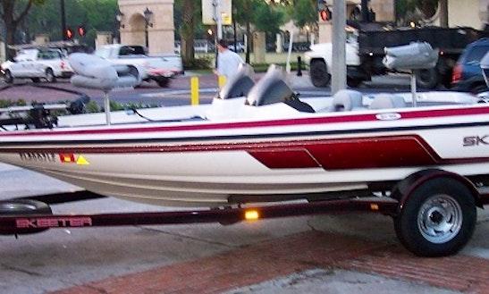 Bass Boat Fishing Charter In Orlando, Florida