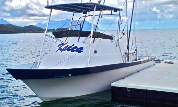 "Sport Fisherman ""Kaica"" Fishing Charter in Kaneohe, Hawaii"