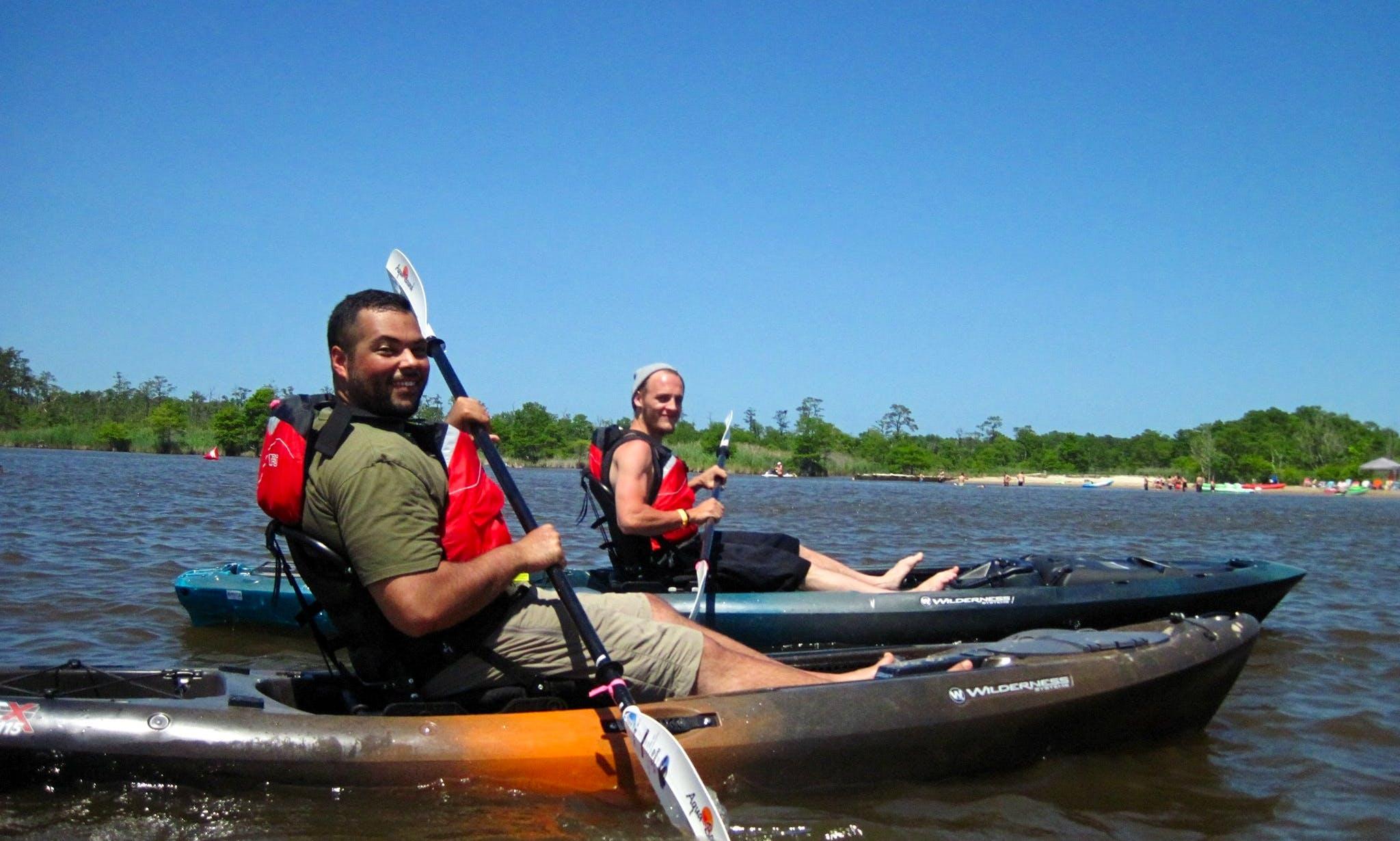 Kayak Rental in Virginia Beach