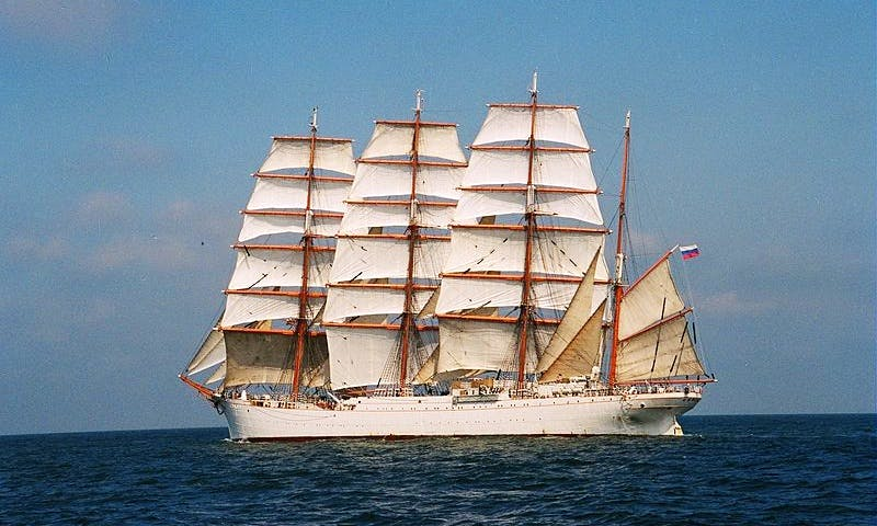 SEDOV Wind Jammer Cruises worldwide