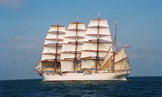 Sedov Wind Jammer Cruises Worldwide