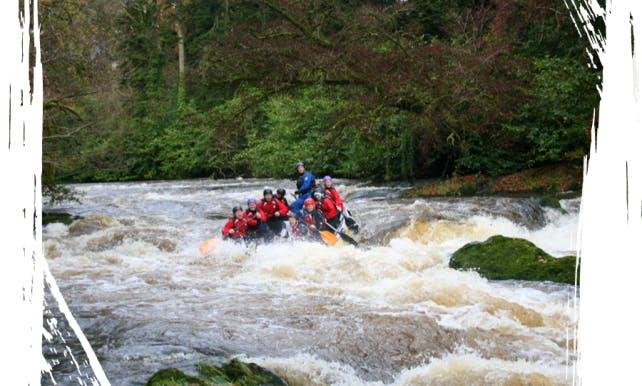 Rafting in Tongwynlais, United Kingdom
