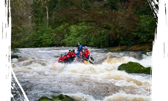 Rafting In Tongwynlais, United Kingdom