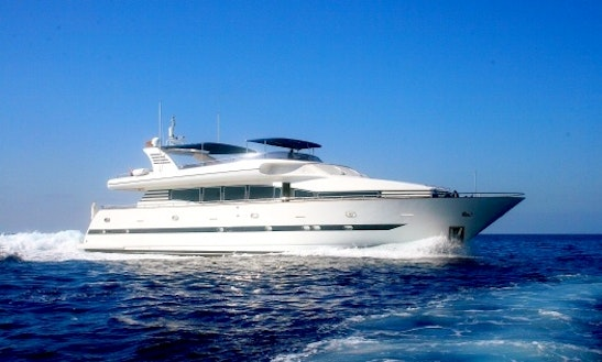 95' Power Mega Yacht Elegance 95 Charter In Portals Nous · Calvia, Spain