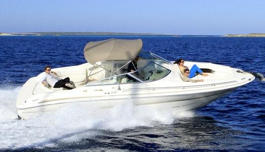 29' Bowrider Sea Ray 280 Charter In Portals Nous · Calvia, Spain