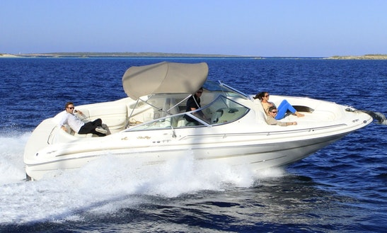 29' Bowrider Sea Ray 280 Charter In Portals Nous · Calvia, Spain