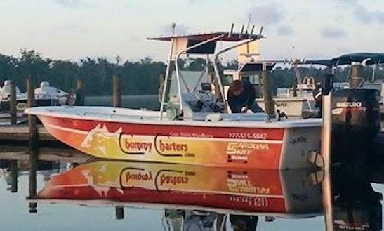 Fishing charter on 22 39 aquasport center console in for Cortez motors bradenton fl