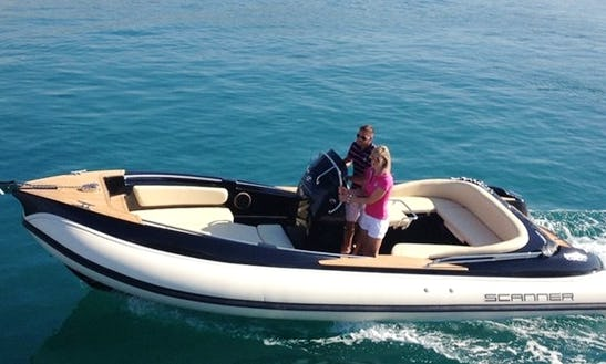 23' Scanner 710 Envy Charter In Portals Nous · Calvia, Spain