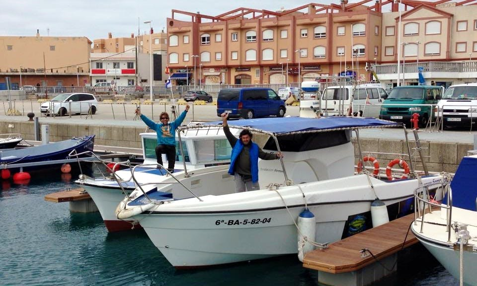 Boat Diving Adventure in Tarifa, Cadiz, Spain