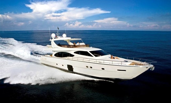 Power Mega Ferretti 780 (ita) Yacht In Split