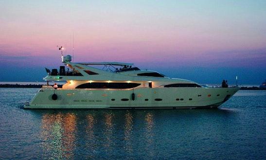 Ferretti-112 Mega Yacht Charter In Sitges