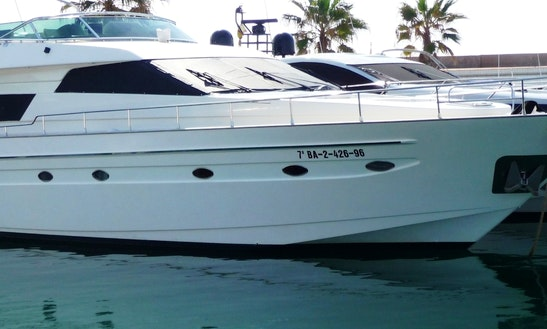 Astondoa-70 Yacht Charter In Sitges
