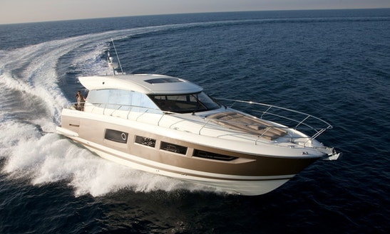 Prestige 500-s Yacht Charter In Sitges