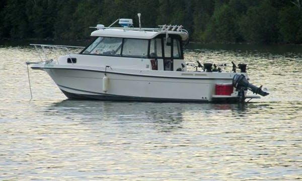 24' Bayliner Tour-fishing Boat at Cold lake