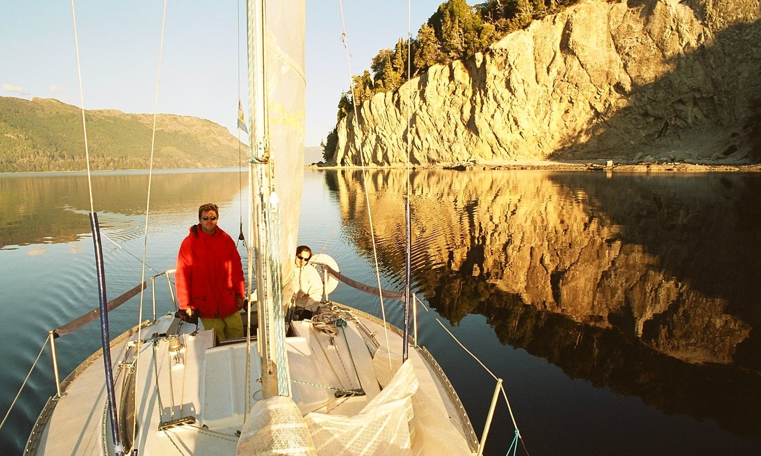 "Sailing Trips on the ""Garufa"" in Neuquén, Patagonia"
