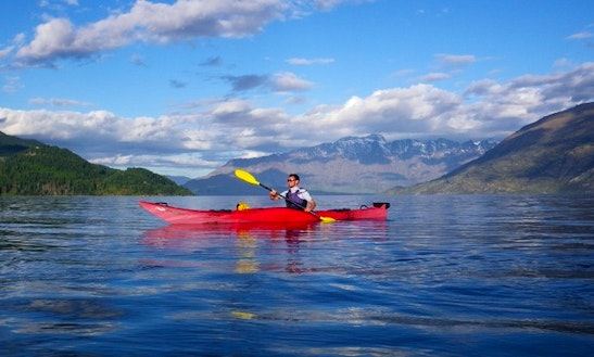 Single Kayak Hire In Queenstown
