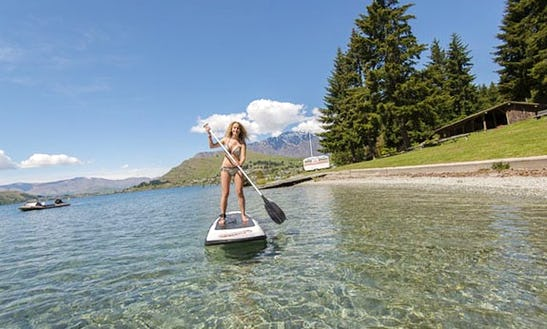 Stand Up Paddle Board Hire In Queenstown