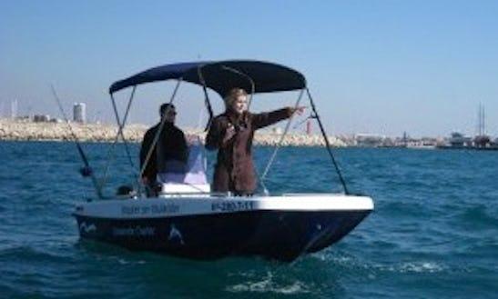 Fiberglass Boat Rental In Cambrils