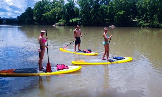 Stand Up Paddle Board Rental In Bastrop