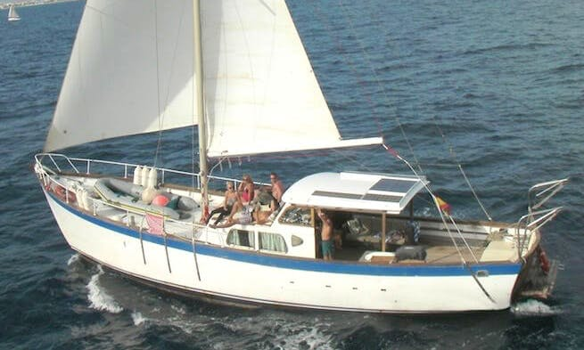 Classic Sailing Yacht Palma in Düsseldorf