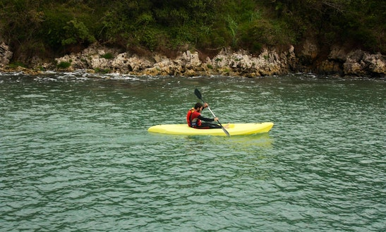 Single Kayak For Hire In Coffs Harbour, Australia