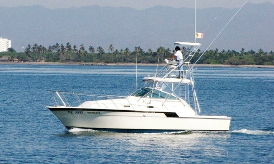 32' Hatteras Fishing Yacht In Puerto Vallarta