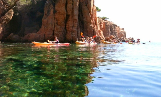 Single Kayak Charter In Sant Feliu De Guixols, Spain