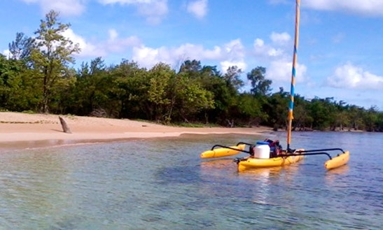 Book A Luxury Trimaran In Petit-canal, Guadeloupe
