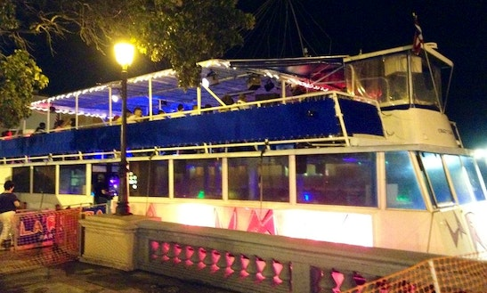 Floating Night Club In Cataño, Puerto Rico
