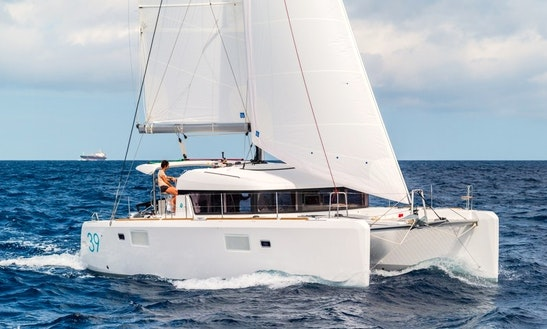 39' Lagoon Cruising Catamaran Charter In Vallauris, France