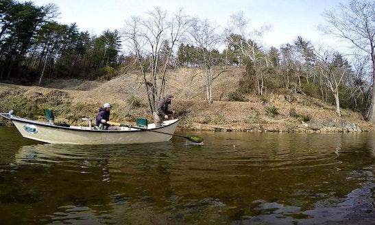 Jon Boat Fishing Charter In Eugene, Oregon