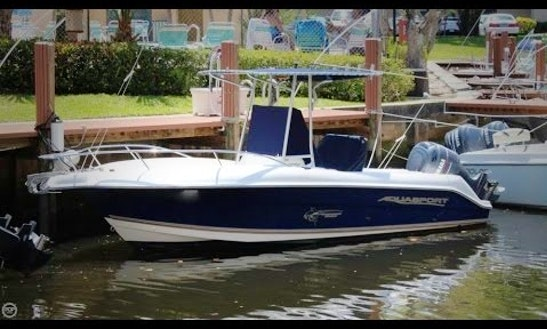 Saint Petersburg Fishing Trips On 22'