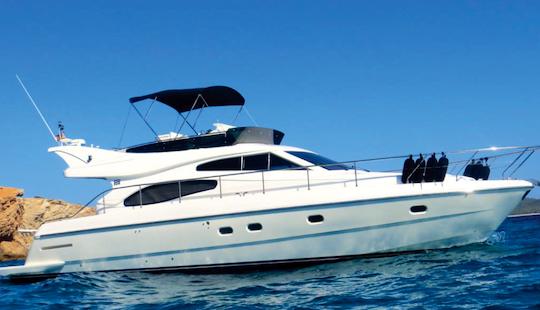 2003 Ferreti Motor Yacht Charter In Illes Balears, Spain