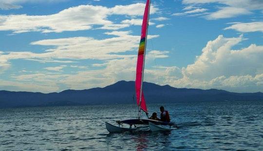 Beach Catamaran Rental In Florianopolis, Brazil