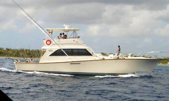 55' Sport Fisherman Charter in San Miguel, Mexico