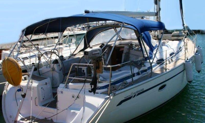 Sail with Bavaria 42' Cruising Monohull for 8 People in Mataro, Spain