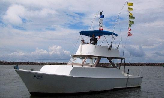 Charter 40' Sport Fishing Boat In Mazatlán